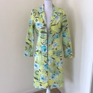 Citrine green/ blue combo Sz 8, open spring jacket